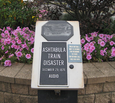 Ashtabula Train Disaster Audio Memorial