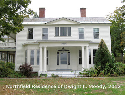 Northfield Residence of Dwight L. Moody