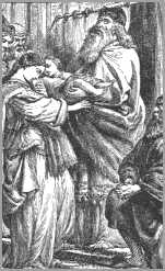 Child Samuel Brought to the Temple