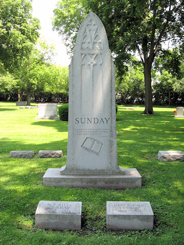 Billy Sunday family monument